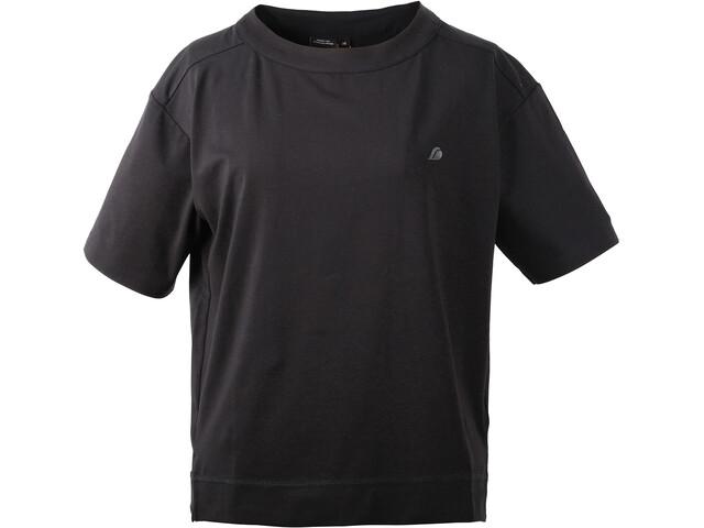 Didriksons 1913 Hermine - T-shirt manches courtes Femme - noir